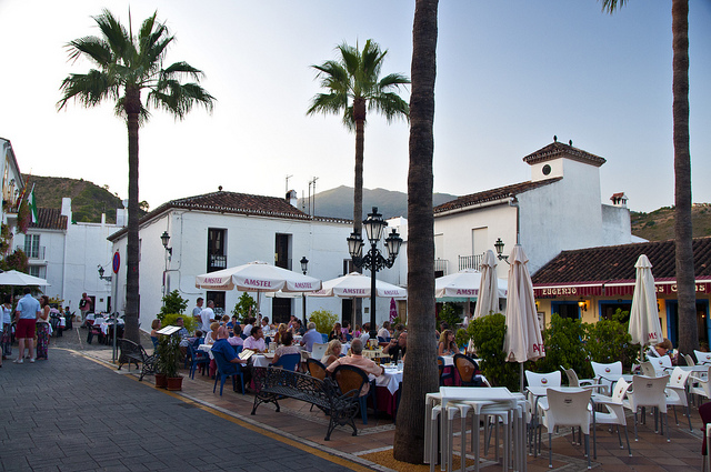 Benahavis, a white mountain village near Marbella