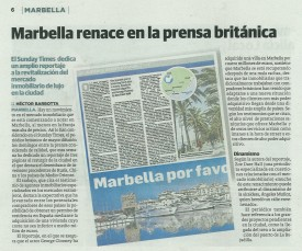 Marbella bounces back into the British Press