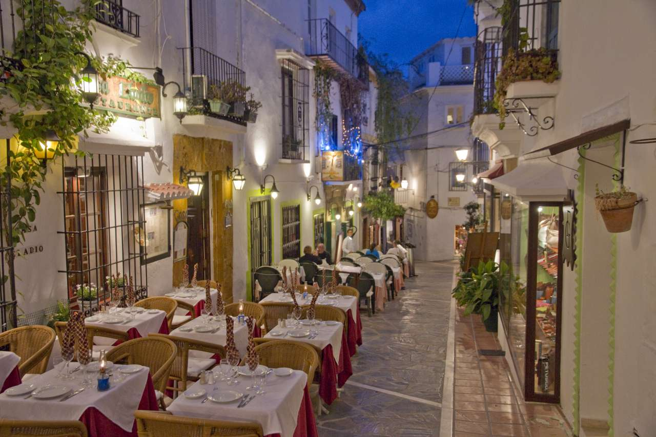 Dining in the Marbella Old Town