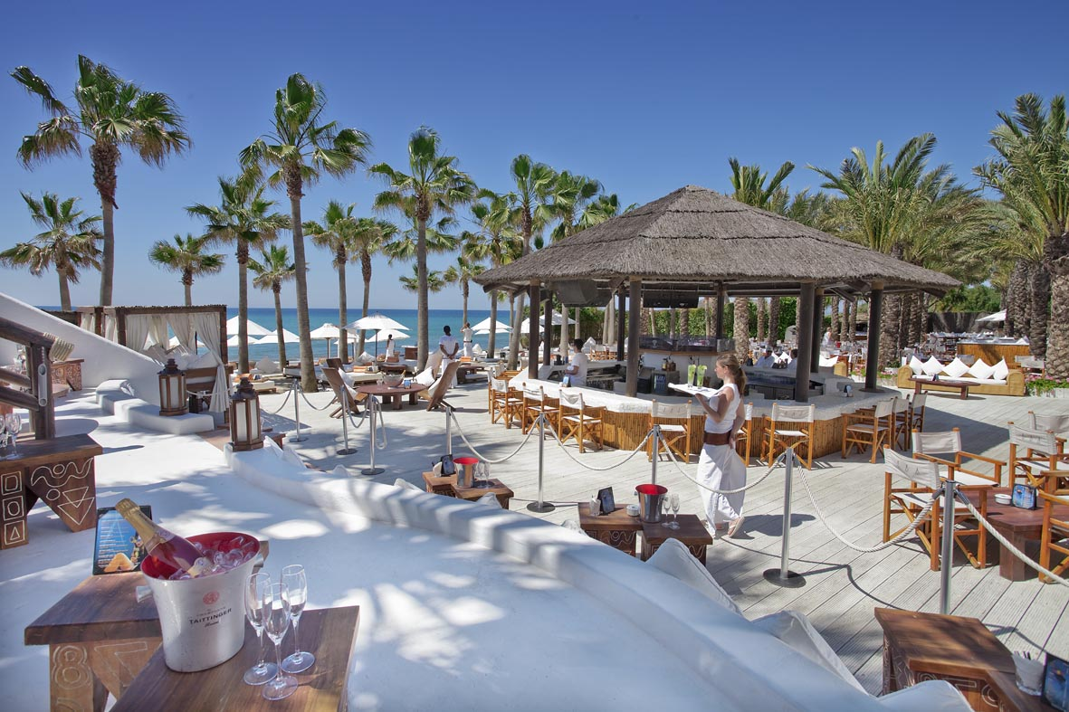 Club de Playa Nikki Beach, Marbella Este