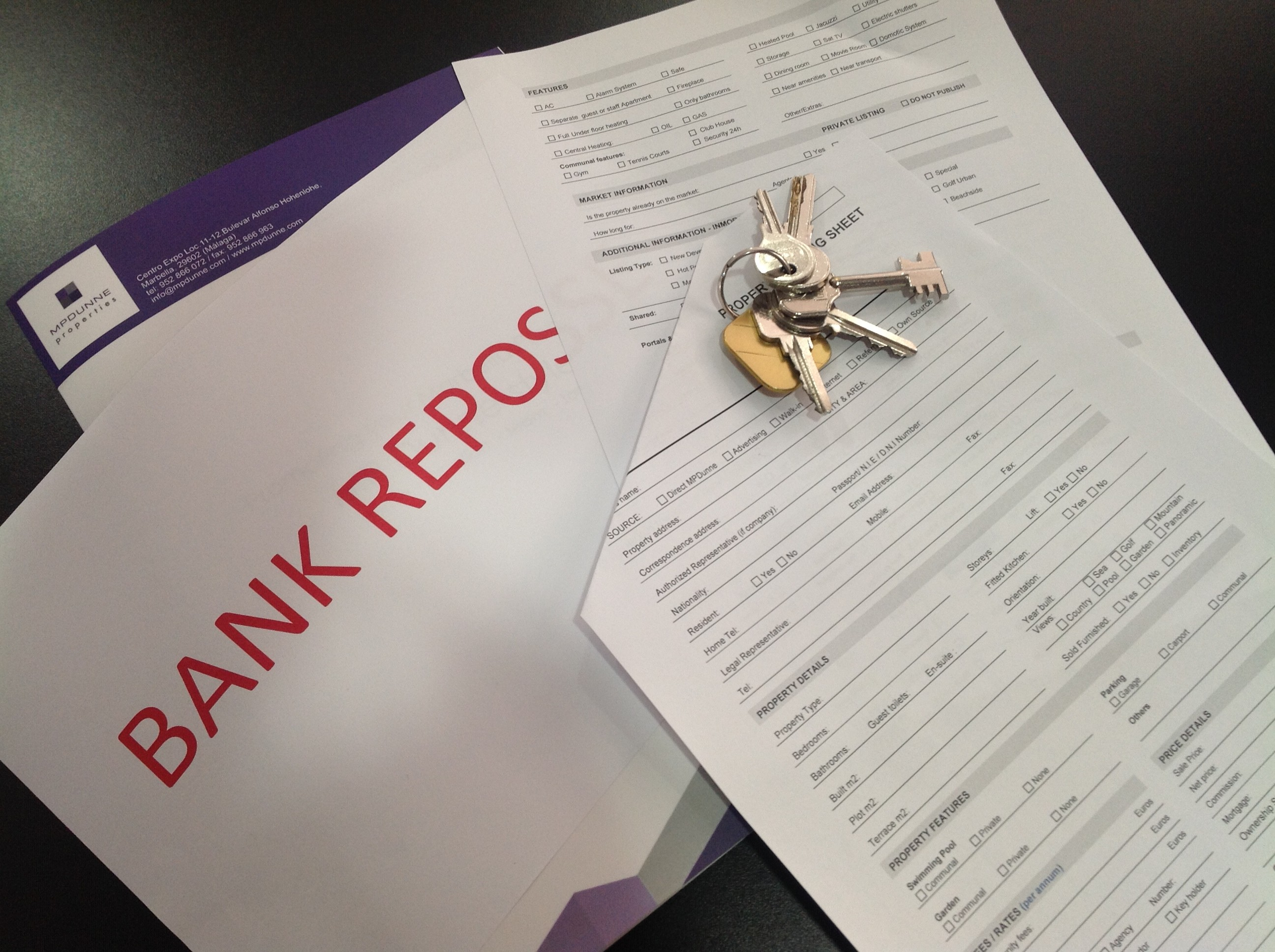 Marbella Bank Properties Bank Repossessions