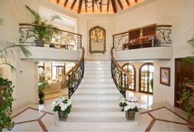 """Marbella Villas: 10 """"Show-stopping"""" entrance halls and staircases"""