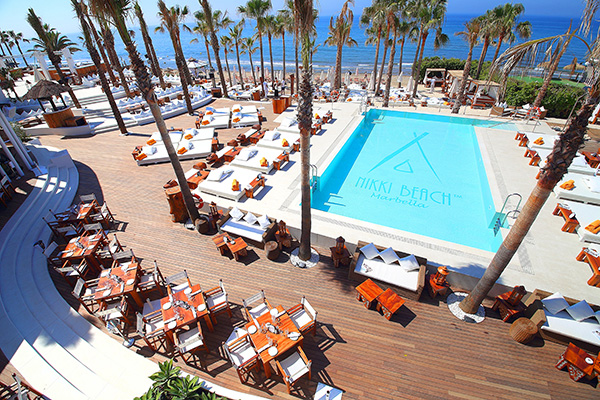 Marbella's iconic beach clubs