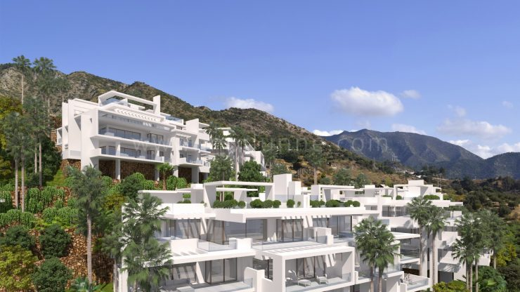 New Palo Alto Penthouses and Apartments Marbella Contemporary Living at its best