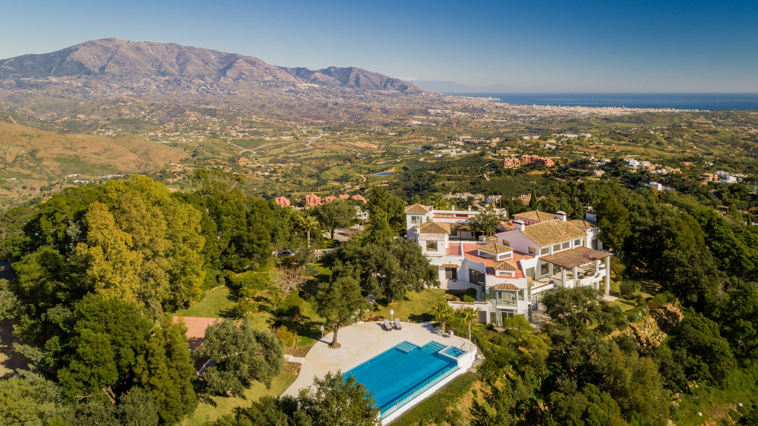 Marbella east - aerial views