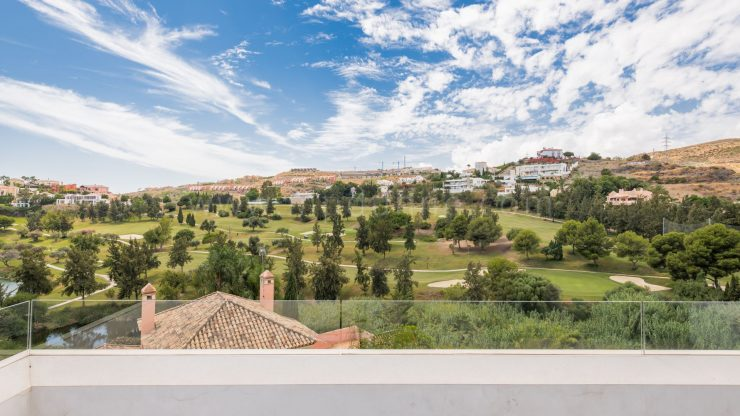 What is the added value of a frontline golf property in Marbella?